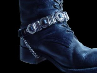 Concho & Loop Boot Straps